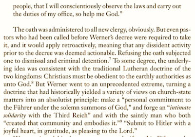 Charles Marsh, Strange Glory: A Life of Dietrich Bonhoeffer, on the Sordid History of German Church's Response to Hitler: We Forget at Our Peril