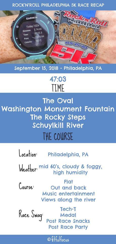 Rock'n'Roll Philadelphia 5K Race Recap