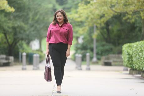 What I Wore: Chico's So Slimming Juliet Pants