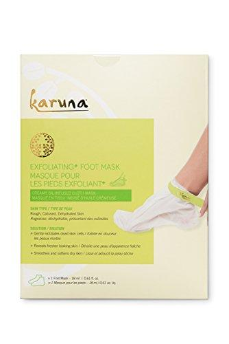 Karuna Single Exfoliating + Foot Mask, 0.61 fl. oz.