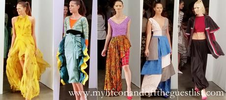 INIFD and London School of Trend's Vibrant India NYFW Show