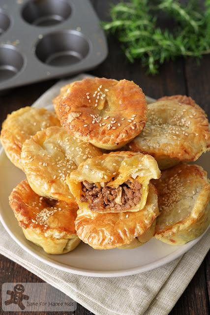 easy beef mushroom pies
