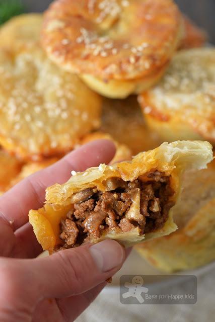 Fuss Free Easy Lean Beef Mushroom Pies