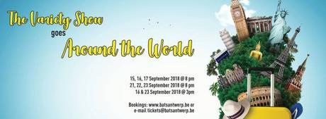 This weekend in Antwerp: 21st, 22nd & 23rd September