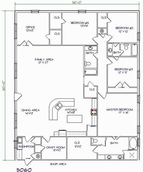13 Outstanding Barndominium Floor Plans for Your Dreams ...