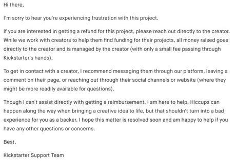 The Biggest Reason Not to Use Kickstarter