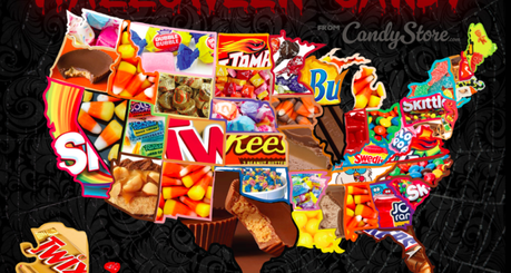 TOP Halloween Candy by State – Check it out!