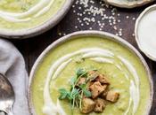 Creamy Broccoli Quinoa Soup with Cashew Cream (Gluten Free Vegan)