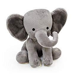 Image: Bedtime Originals Choo Choo Express Plush Elephant - Humphrey