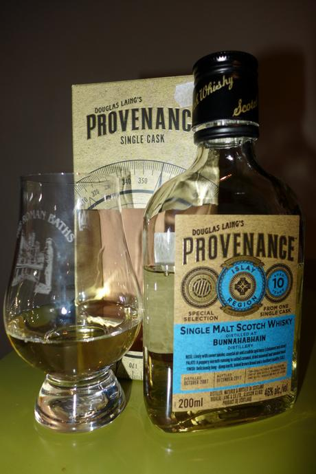 Tasting Notes:  Douglas Laing: Provenance Single Cask: Bunnahabhain 10 Year
