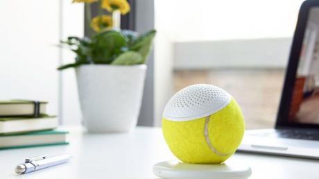 hearO Speaker Upcycles Championship Tennis Balls For High-Tech Memorabilia