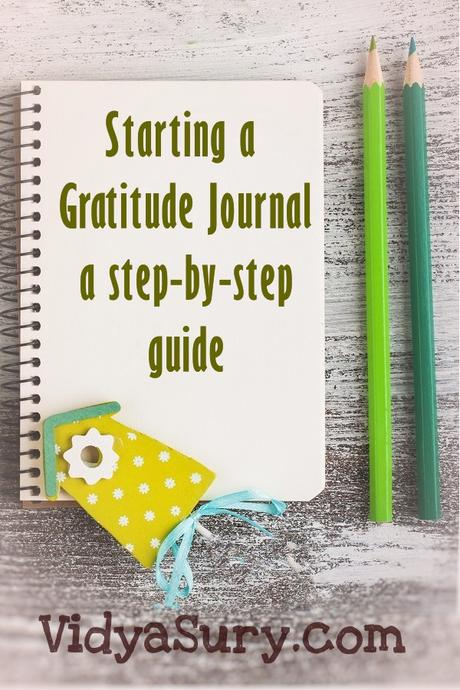 A step by step guide to starting a gratitude journal