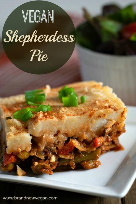 You mean Shepherd's Pie?  Technically that's the name for the meat version.  The vegan version is called a Shepherdess Pie and that's what were all about!
