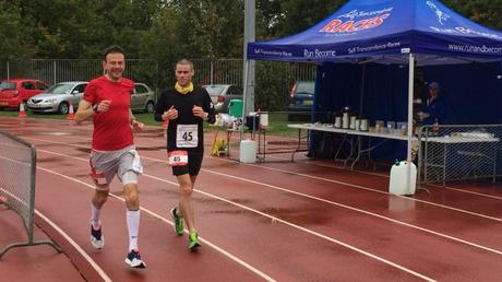 Sri Chinmoy 24 Hour Tooting Bec 2018 – Stocks & Morwood Lead at 14:30 Hours