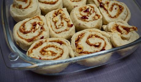 Vegan Cinnamon Nut Rolls!