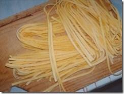 Sunday with Sugo, Seafood, Fresh Tagliatelle Pasta