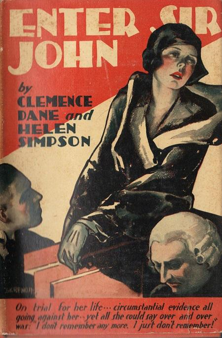 Enter Sir John (1929) by Clemence Dane and Helen Simpson