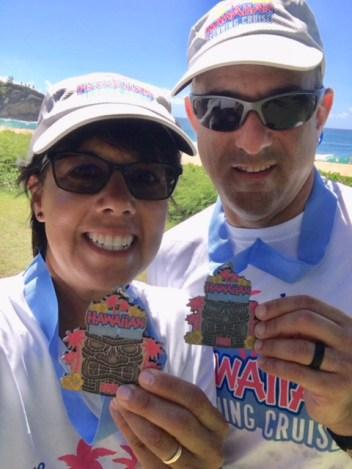 Running in Hawaii!!!