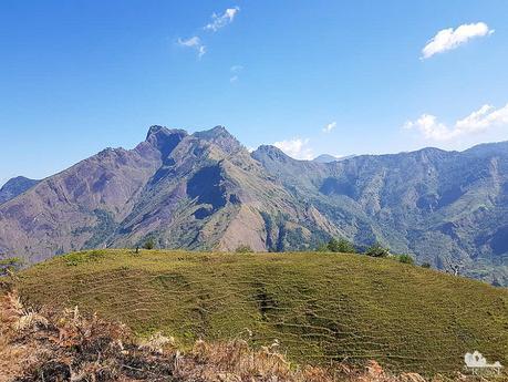 Mt. Tenglawan from afar