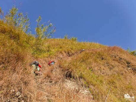 An almost vertical climb