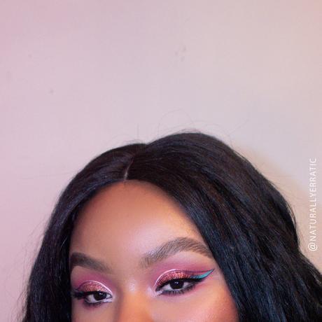 pink romantic eye makeup