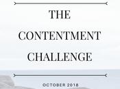 Contentment Challenge October Goals Halfway Point