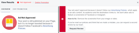 How to Quickly Get Your Facebook Boosted Post Approved