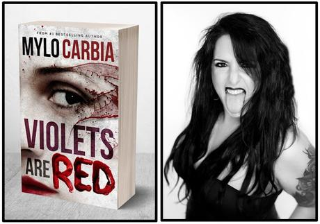 #1 bestselling author Mylo Carbia's latest hit novel, 'Violets are Red'