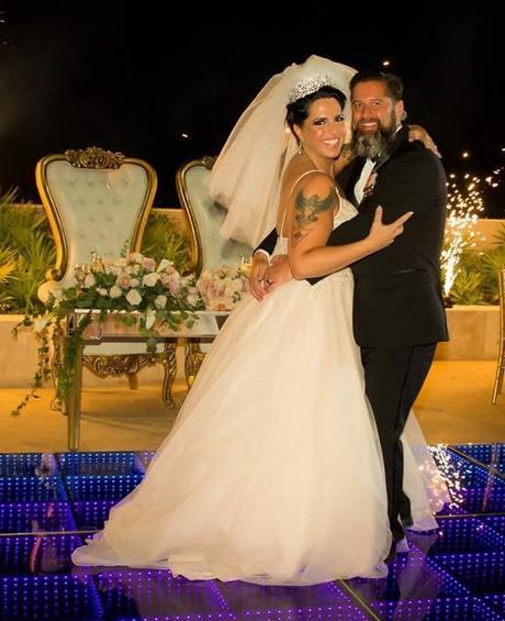 Celebrity Writer, Mylo Carbia, Weds U.S. Navy War Hero, Kurt Lund, in Playa Mujeres, Mexico on September 16, 2018