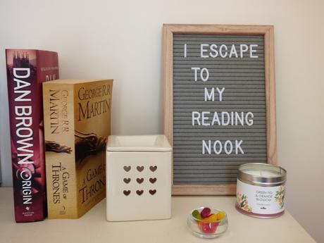 Reading Nook Essentials items