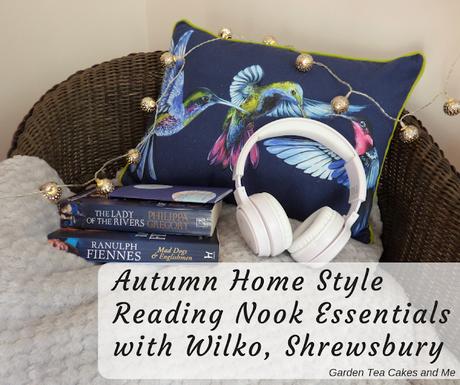 Reading Nook Essentials Autumn Home Style Wilko