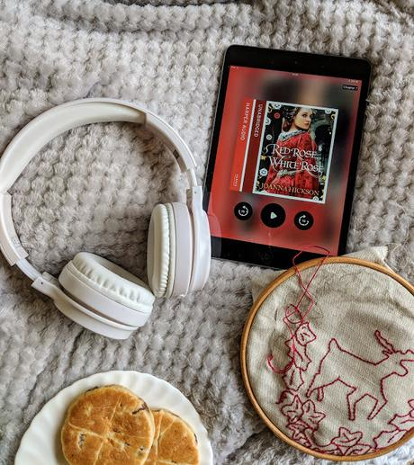 audio book headphones reading nook