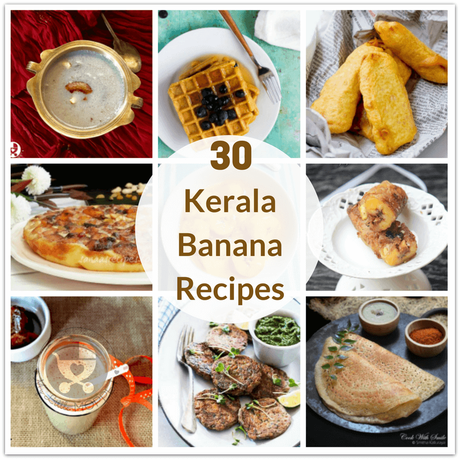 Kerala bananas or plantains are incredibly versatile! Here are 30 Kerala Banana Recipes for Kids, featuring dishes made with both raw and ripe plantains!