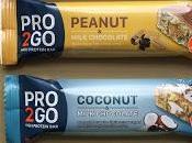 Pro2Go High Protein Bars Range