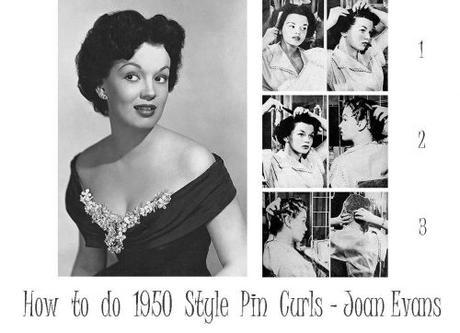 Vintage 1950s Pin Curls Hairstyle Tutorial Paperblog