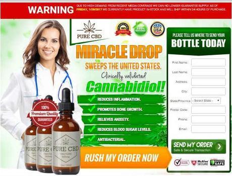 CBD Free Samples : Claim Your Free CBD Oil, Miracle Drop - Paperblog