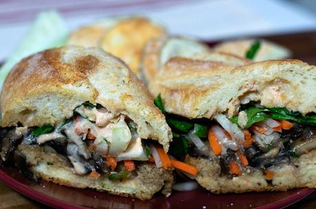 Vegan Bahn Mi Sandwich