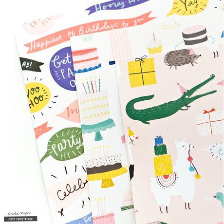 Crate Paper Design Team : Happy Birthday layout