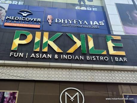 Pikkle, Rajinder Nagar, New Delhi: Modern Indian-Asian Bistro