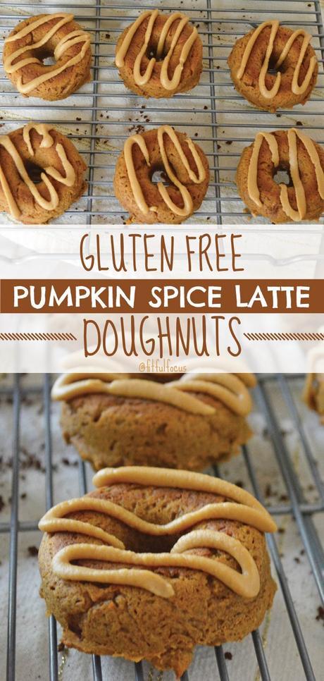 Gluten Free Pumpkin Spice Latte Doughnuts (protein packed)