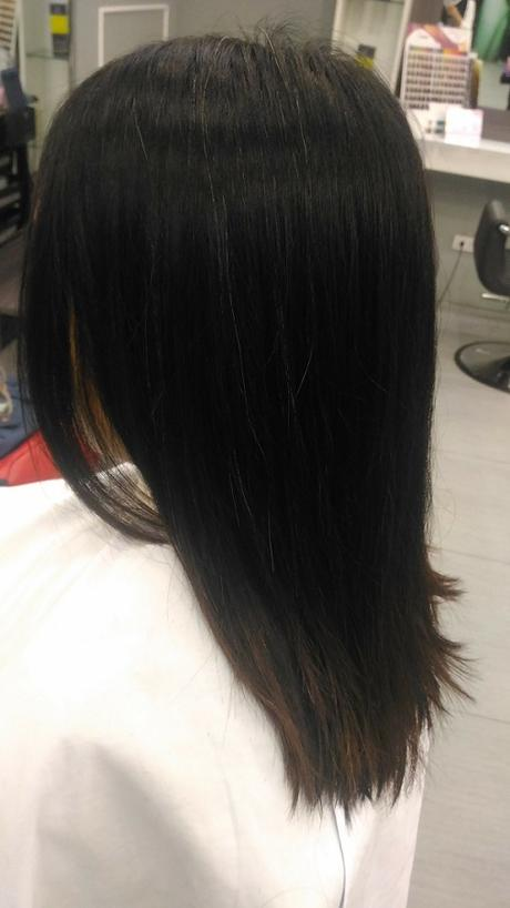 Before cut and color