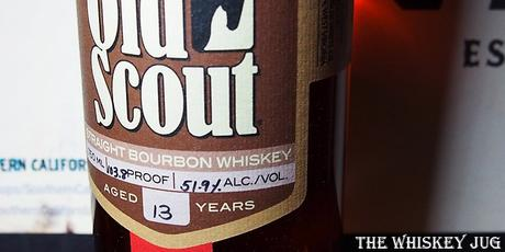 Old Scout Single Barrel - Smooth Dramblers Label