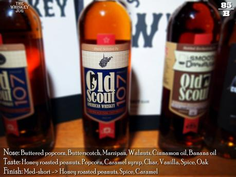 Old Scout American Whiskey 107 - West Virgina Pick Review