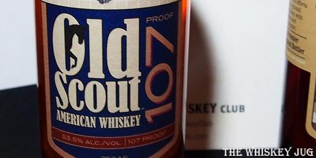 Old Scout American Whiskey 107 - West Virgina Pick Label