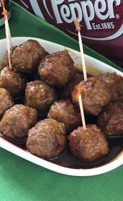 Dr Pepper Meatballs