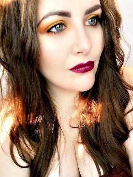 A Yellow Makeup Look / Blogtober