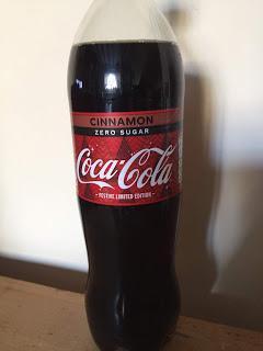 Coca Cola Cinnamon Zero Sugar Festive Limited Edition