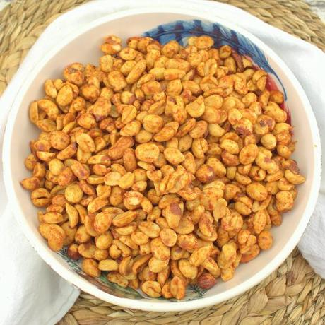 Honey Sriracha Peanuts #ImprovCookingChallenge