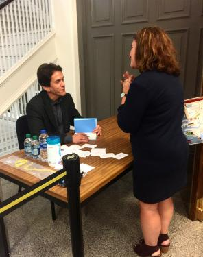 Meeting Mitch Albom Was A Dream Come True For This Indie Author