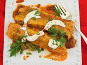 Chayote Cuitlacoche Enchiladas #FreakyFruitsFriday #Sponsored